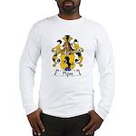 Plass Family Crest Long Sleeve T-Shirt