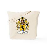 Plass Family Crest Tote Bag