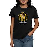 Plass Family Crest Women's Dark T-Shirt