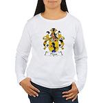Plass Family Crest Women's Long Sleeve T-Shirt