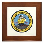 Anchorage Gang Task Force Framed Tile