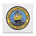 Anchorage Gang Task Force Tile Coaster