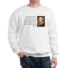 Thomas Jefferson 23 Sweatshirt