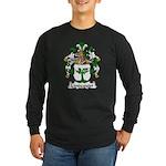Lindequist Family Crest Long Sleeve Dark T-Shirt