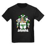 Lindequist Family Crest Kids Dark T-Shirt