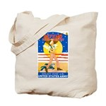Army Defend Your Country Tote Bag