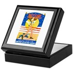 Army Defend Your Country Keepsake Box