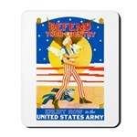 Army Defend Your Country Mousepad