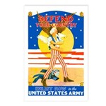 Army Defend Your Country Postcards (Package of 8)