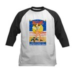 Army Defend Your Country Kids Baseball Jersey