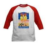 Army Defend Your Country (Front) Kids Baseball Jer