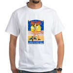 Army Defend Your Country White T-Shirt