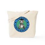 Teddy University Tote Bag