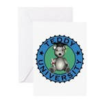 Teddy University Greeting Cards (Pk of 20)