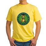 Teddy University Yellow T-Shirt