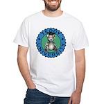 Teddy University T-Shirt White