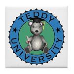 Teddy University Coaster Tile