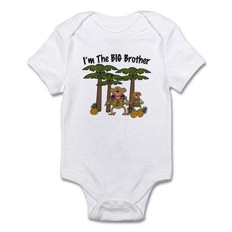 I'm The Big Brother with Little Sister Baby Onesie