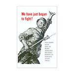 Patriot Just Begun to Fight Mini Poster Print