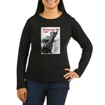 Patriot Just Begun to Fight (Front) Women's Long S