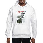Patriot Just Begun to Fight Hooded Sweatshirt