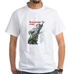 Patriot Just Begun to Fight White T-Shirt