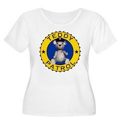 Teddy Patrol Women's Plus Size Scoop Neck T-Shirt
