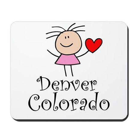 Cute Denver Colorado Mousepad