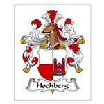Hochberg Family Crest Small Poster