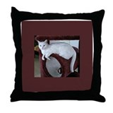 TURKISH VAN CAT Throw Pillow