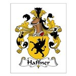 Haffner Family Crest  Small Poster