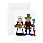 The Mason and the OES Matron Greeting Card