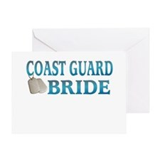 coast guard bride Greeting Card