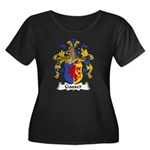 Gasser Family Crest Women's Plus Size Scoop Neck D