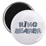 BP Letters Ring Bearer Magnet