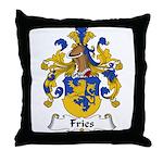 Fries Family Crest  Throw Pillow