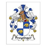 Freysinger Family Crest  Small Poster