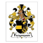 Freymann Family Crest  Small Poster