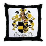 Freymann Family Crest  Throw Pillow