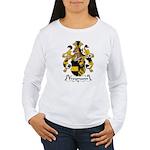 Freymann Family Crest  Women's Long Sleeve T-Shirt