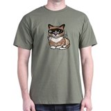 Snowshoe Cat Lover T-Shirt