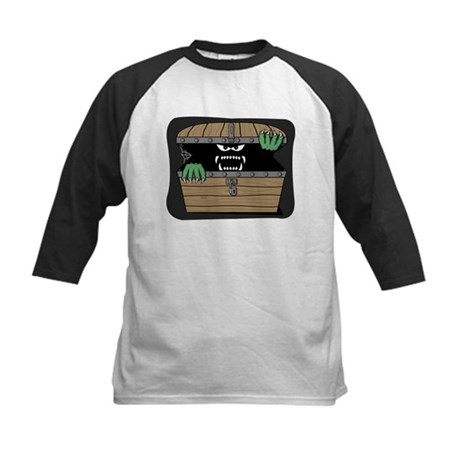 Scary Monster Kids Baseball Jersey