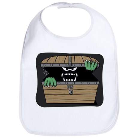 Scary Monster Bib