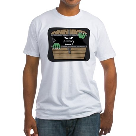 Scary Monster Fitted T-Shirt