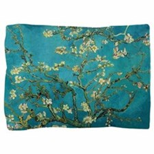 Vincent Van Gogh Blossoming Almond Tre Pillow Sham