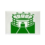 Green Stadium Rectangle Magnet