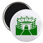 Green Stadium Magnet