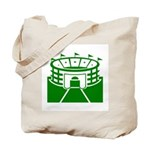 Green Stadium Tote Bag