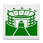 Green Stadium Tile Coaster