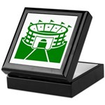 Green Stadium Keepsake Box
